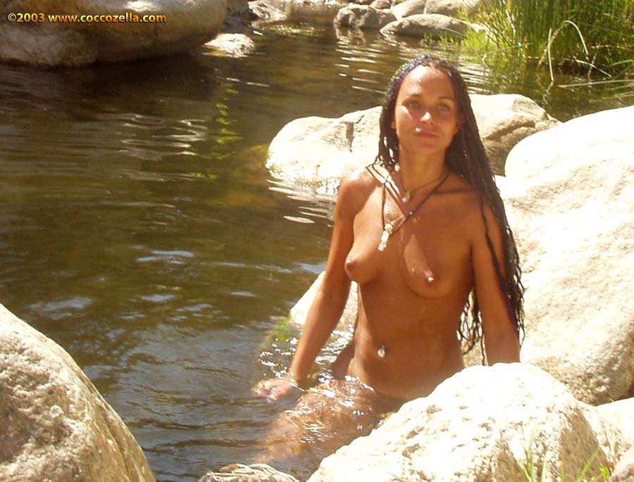 Andyo deep creek hot springs Coccozella Nudist Photography