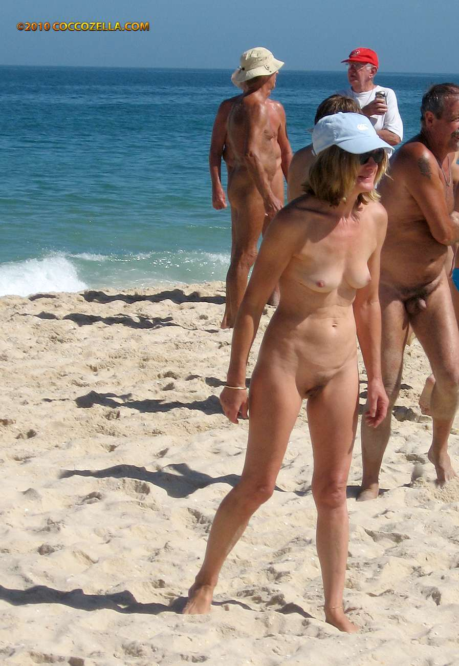going to a nude beach