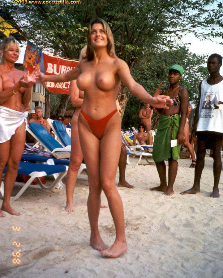 Valentine's Day Multiple Naked Weddings On Jamaican Beach A Success