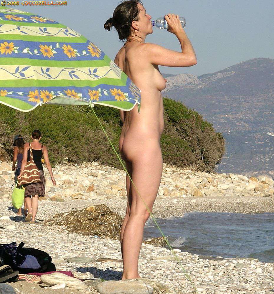 Naked Nudist Samos