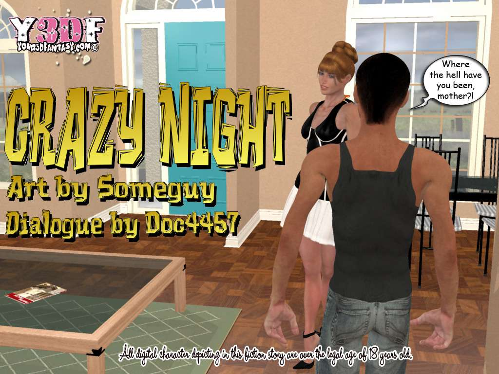 Hentai 3D Crazy Night