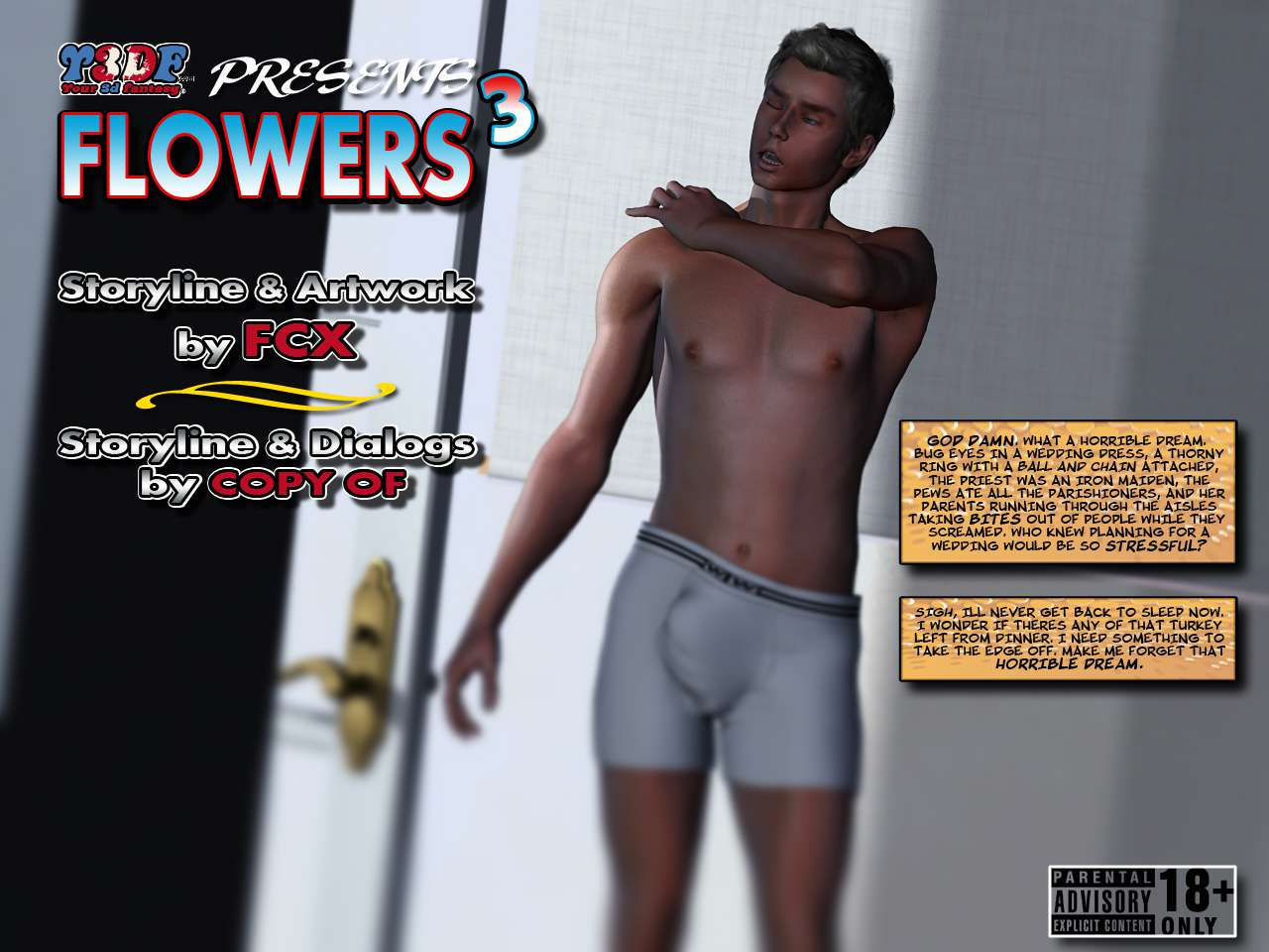 Hentai 3D The Flowers 3