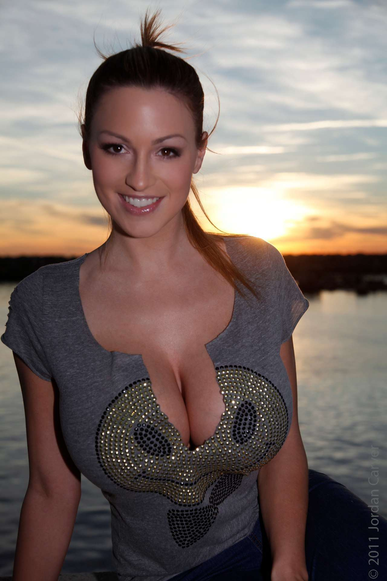 Jordan Carver Smiley T-Shirt