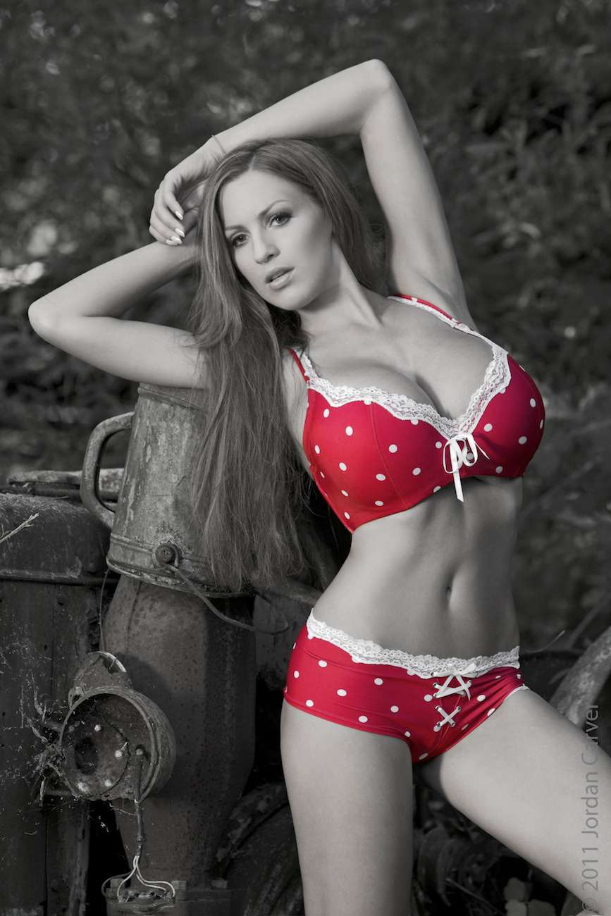 Jordan Carver Red Influence