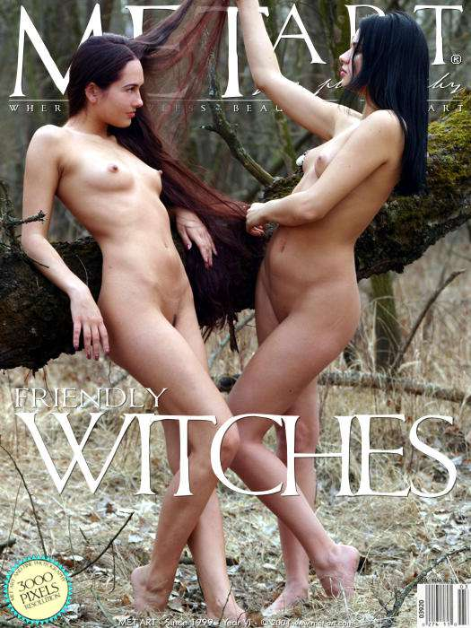 Met-Art Friendly Witches