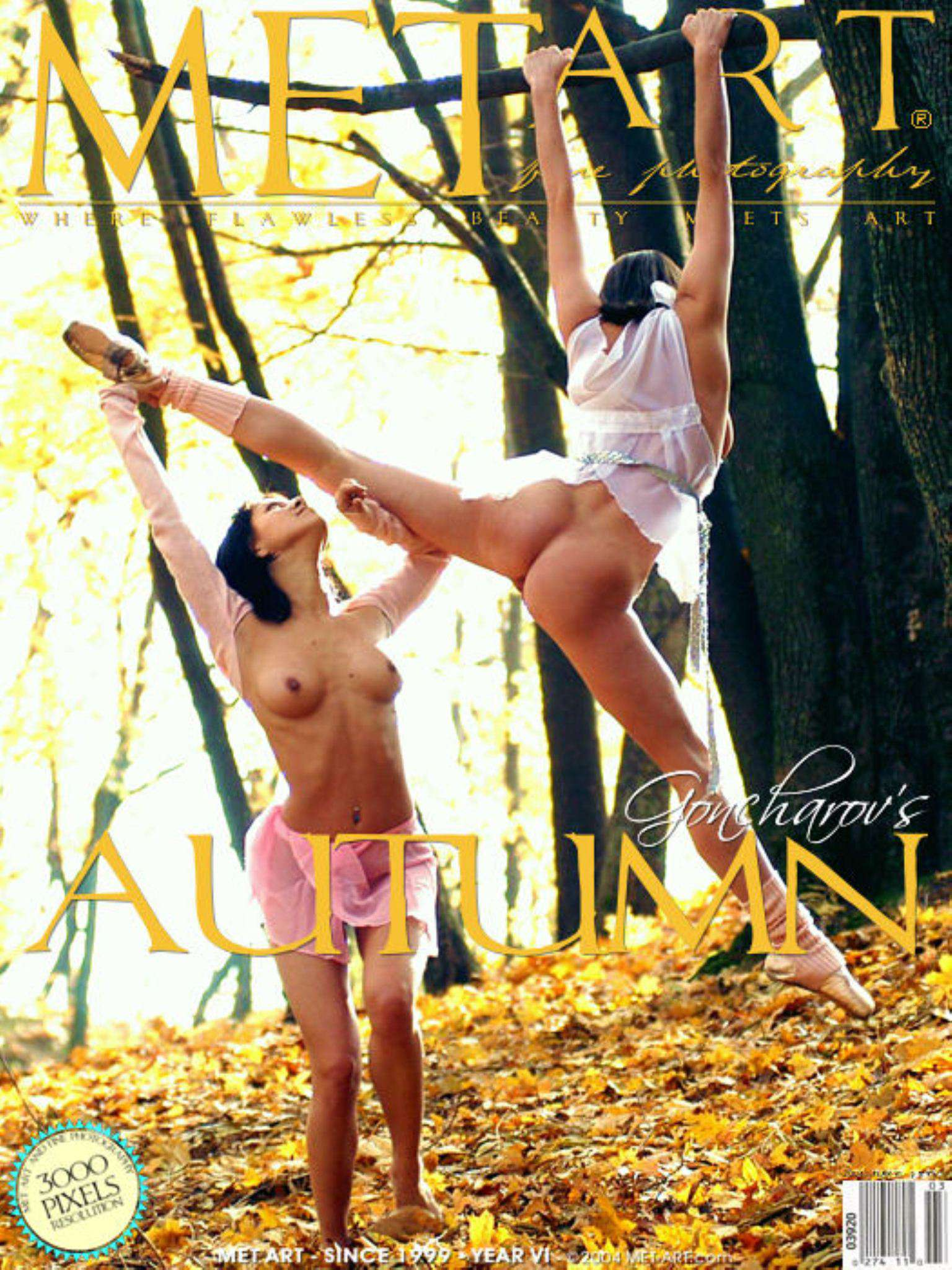 Met-Art Autumn Dance