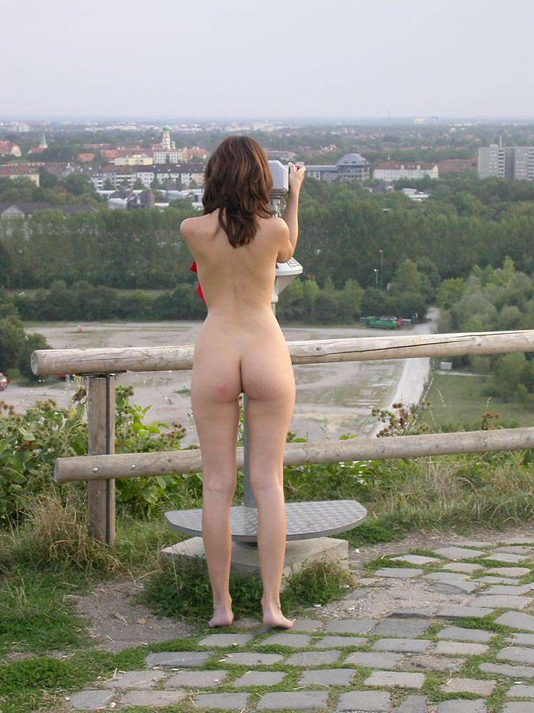 At a viewpoint in Munich